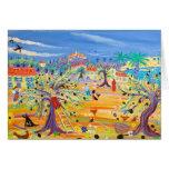 Tarjeta del arte: La ruta verde oliva. Villancico