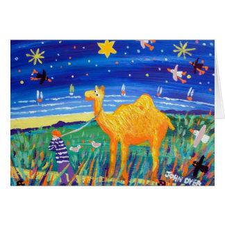 Tarjeta del arte: Tarjeta de Navidad de Cornualles