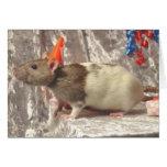 Tarjeta del B-día de la rata