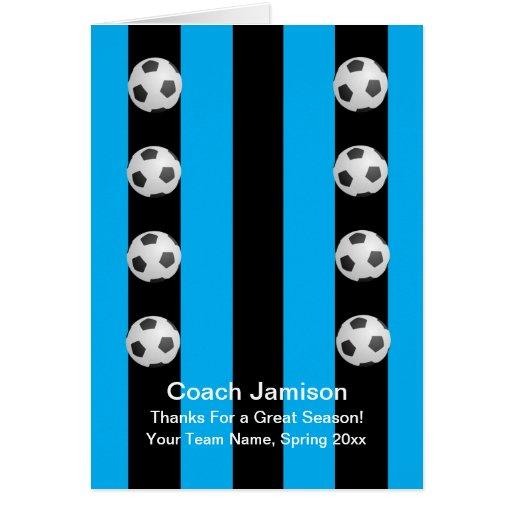 Tarjeta del balón de fútbol para el coche, azul, i