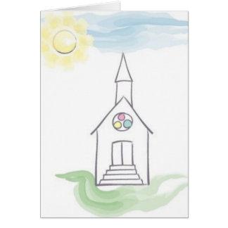 Tarjeta del bautismo