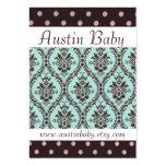Tarjeta del bebé de Austin Plantilla De Tarjeta De Negocio