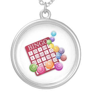 Tarjeta del BINGO con las bolas del BINGO Colgante Redondo