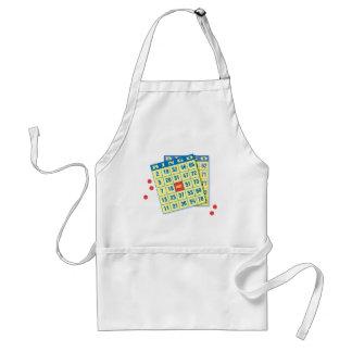 Tarjeta del bingo - juego a ganar - encantos de bu delantal