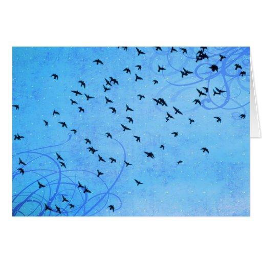 Tarjeta del Birds of a Feather