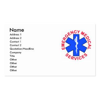 Tarjeta del contacto del ccsme EMT Tarjetas De Visita