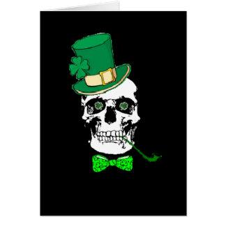 Tarjeta del cráneo de St Patrick