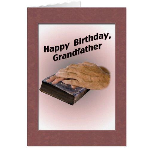 Tarjeta del cumpleaños del abuelo