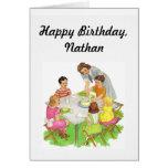Tarjeta del cumpleaños del niño