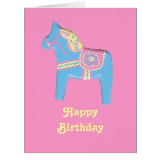 Tarjeta del cumpleaños grande del niño