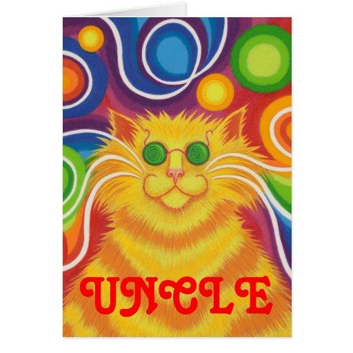 """tarjeta del """"cumpleaños maravilloso"""" del """"tío"""" del"""