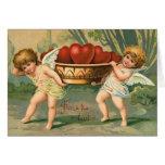 Tarjeta del Cupid de la tarjeta del día de San Val
