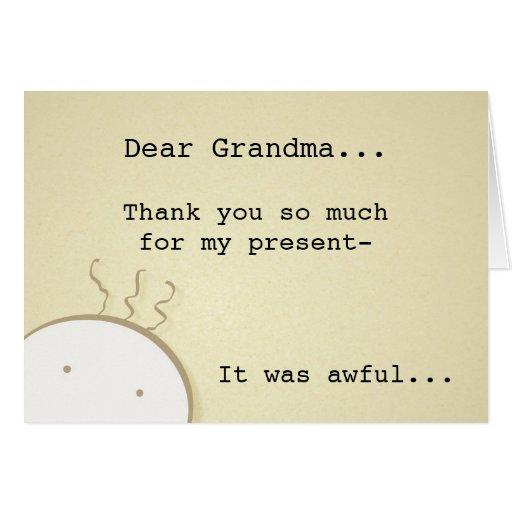 Tarjeta del de agradecimiento
