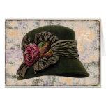 Tarjeta del ~ de la elegancia del gorra