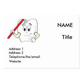 Tarjeta del dentista tarjeta de negocio