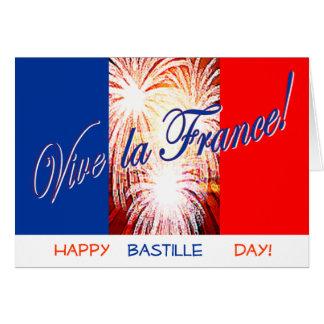 tarjeta del día de bastille