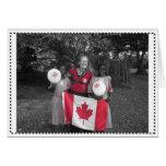 Tarjeta del día de Canadá