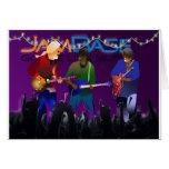 Tarjeta del día de fiesta de JamBase