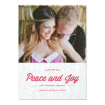 Tarjeta del día de fiesta de la paz y de la invitaciones personalizada