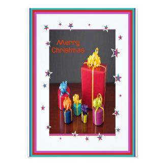 Tarjeta del día de fiesta de las cajas de regalo invitación 13,9 x 19,0 cm