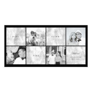 Tarjeta del día de fiesta del collage de la foto tarjetas fotográficas
