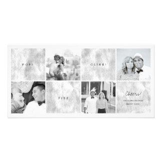 Tarjeta del día de fiesta del collage de la foto tarjetas fotográficas personalizadas