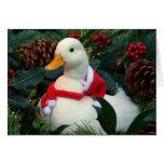 Tarjeta del día de fiesta del pato