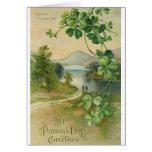 Tarjeta del día de Killarney St Patrick del vintag