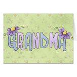 Tarjeta del día de la abuela