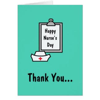 Tarjeta del día de las enfermeras -- Gracias