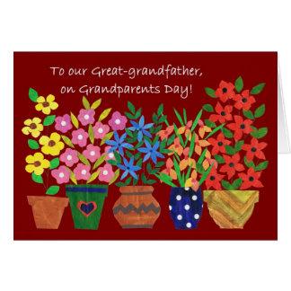 Tarjeta del día de los abuelos para el