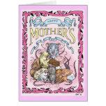 Tarjeta del día de madre de la mamá de Rattie