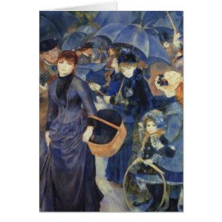Tarjeta del día de madre de Pierre-Auguste Renoir