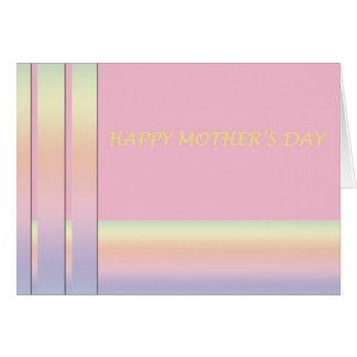 Tarjeta del día de madre del diseñador
