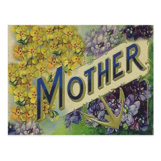 Tarjeta del día de madre del Victorian Tarjetas Postales
