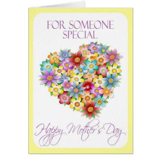 Tarjeta del día de madre para alguien especial