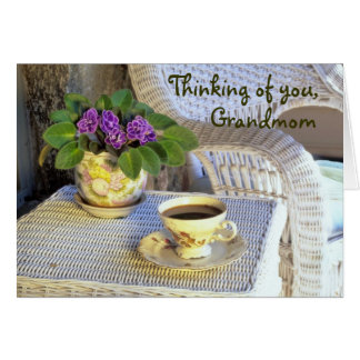 Tarjeta del día de madre para Grandmom