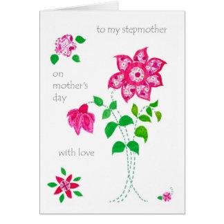 Tarjeta del día de madre para la madrastra -