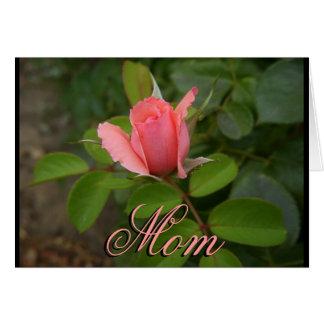 Tarjeta del día de madre: Siempre allí