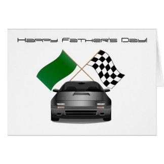 Tarjeta del día de padre de Mazda RX-7