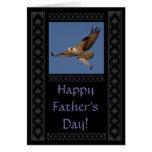 Tarjeta del día de padre de Osprey