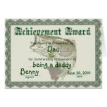 Tarjeta del día de padre del premio de la diversió