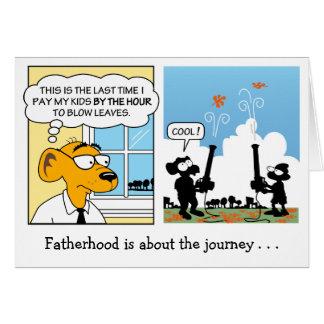 Tarjeta del día de padre: Paternidad