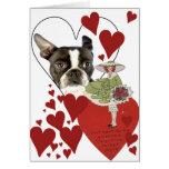 Tarjeta del día de San Valentín 1 del vintage de l