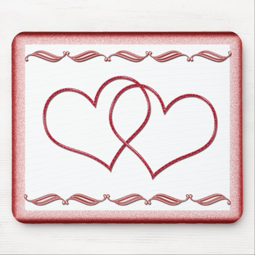 Tarjeta del día de San Valentín #1 Alfombrillas De Raton
