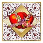 Tarjeta del día de San Valentín - 2 corazones rojo