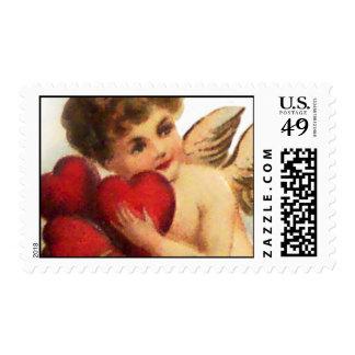 Tarjeta del día de San Valentín 2 del vintage de Envio