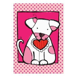 Tarjeta del día de San Valentín a granel en las ta Plantilla De Tarjeta De Visita