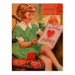 Tarjeta del día de San Valentín a mimar Postal