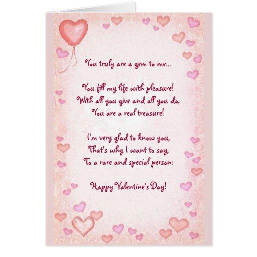 Tarjeta del día de San Valentín (adaptable)